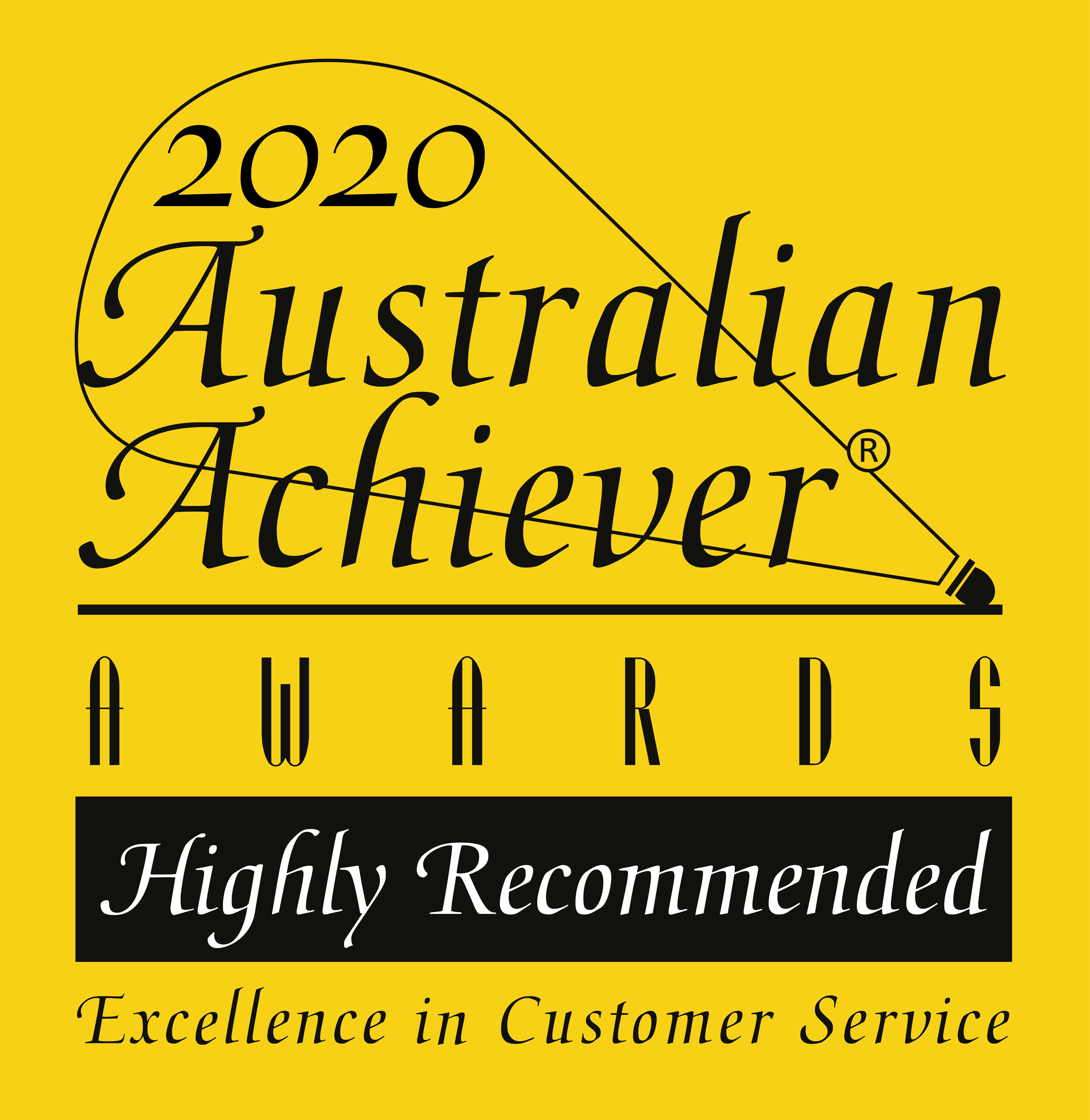 2020 Australian Achiever Awards - Highly Recommended