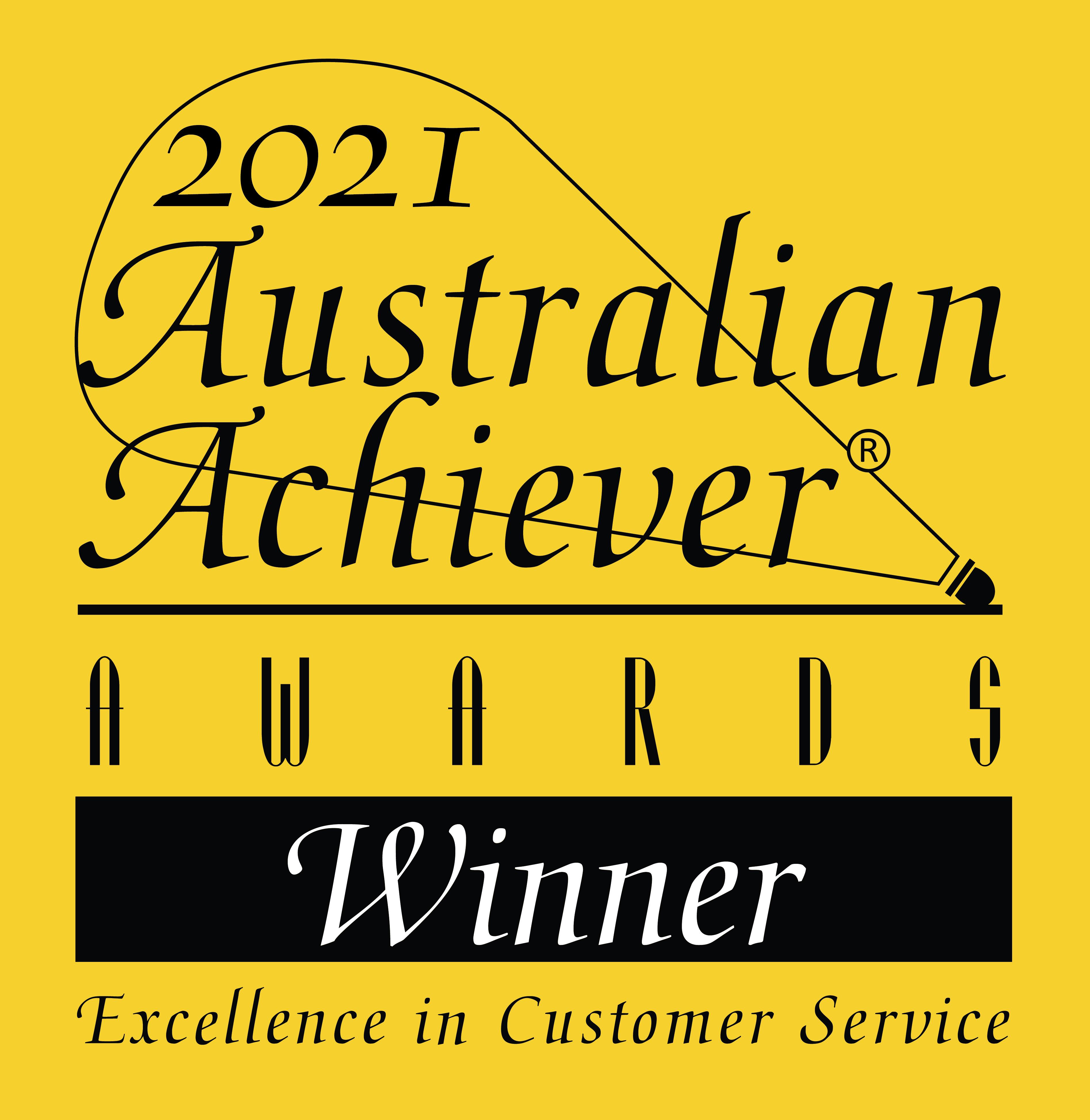 2021 Australian Achiever Awards - Real Estate Services - Winner
