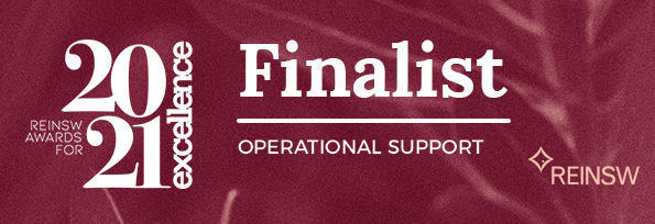 2021 FINALIST REINSW Awards - Operational Support