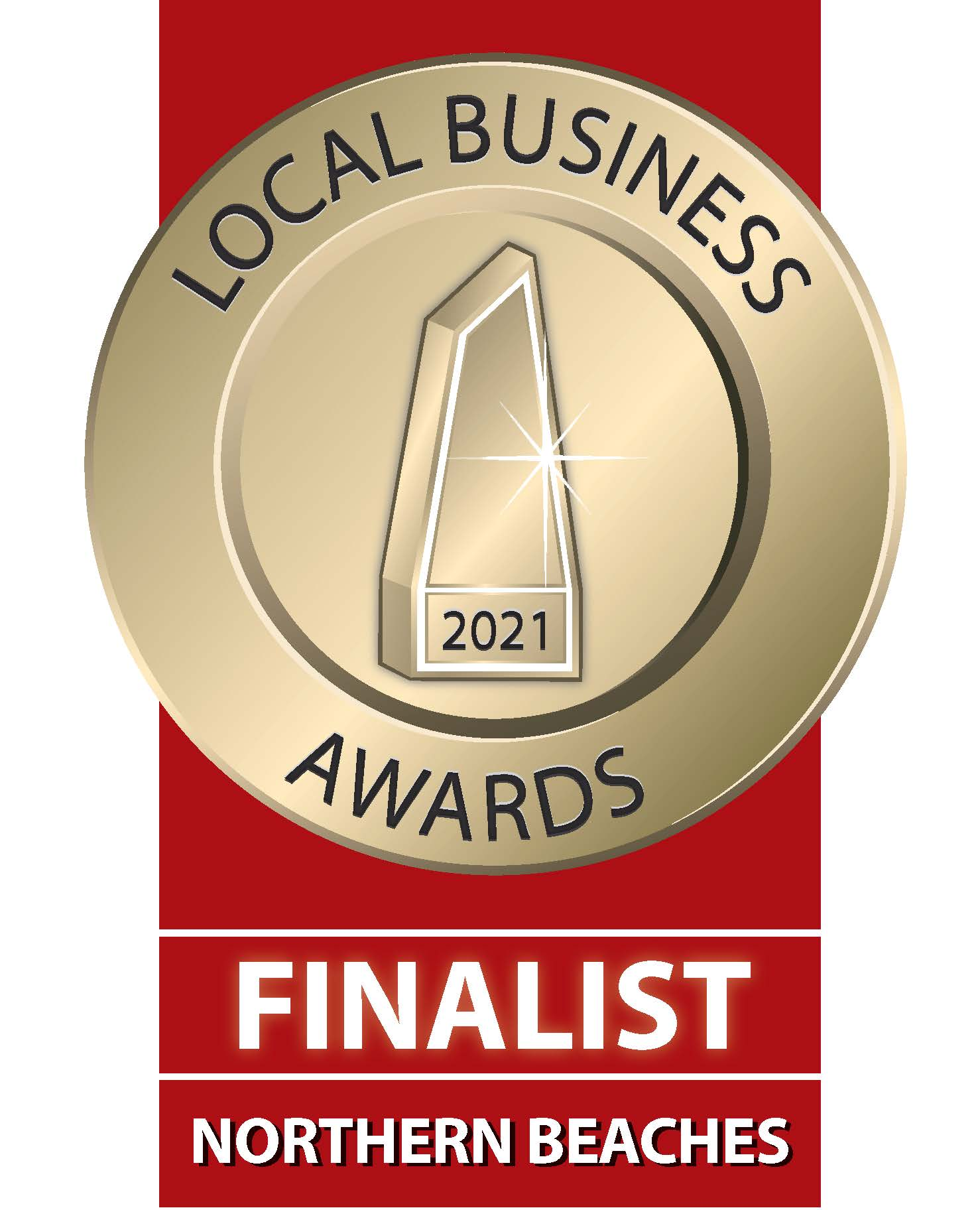 2021_Local Business Awards - Finalist - Northern Beaches
