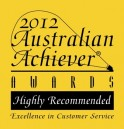 Highly Recommended Excellence in Customer Relations Award 2012