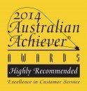 Australian Achiever Award 2014 Customer Relations