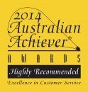 Australian Achiever Award 2014 Customer Relations