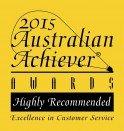 Australian Achiever Award 2015