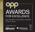 Winner 2013 Excellence Best Investment Advisor