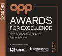 Winner 2014 Award Excellence Best Supporting Service