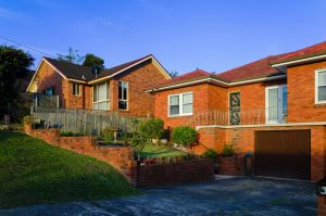 Sydney red brick house
