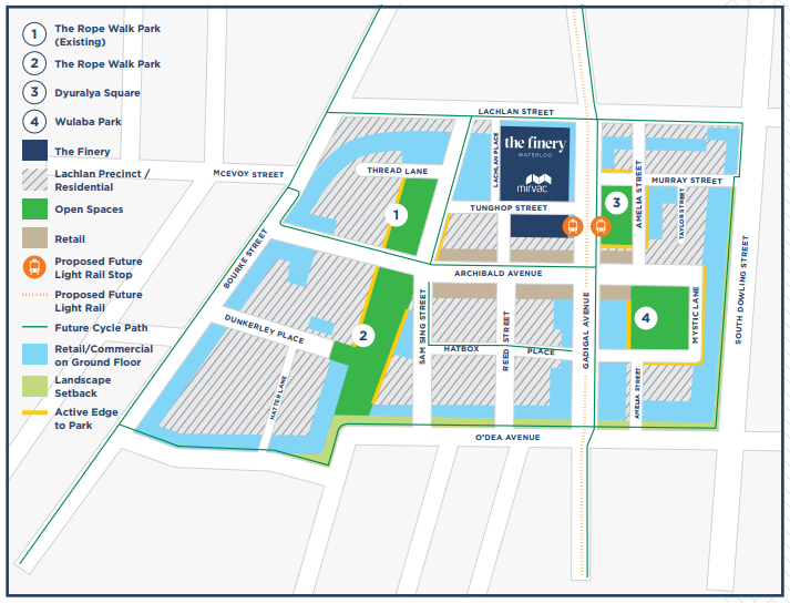 Lachlan Precinct Overview