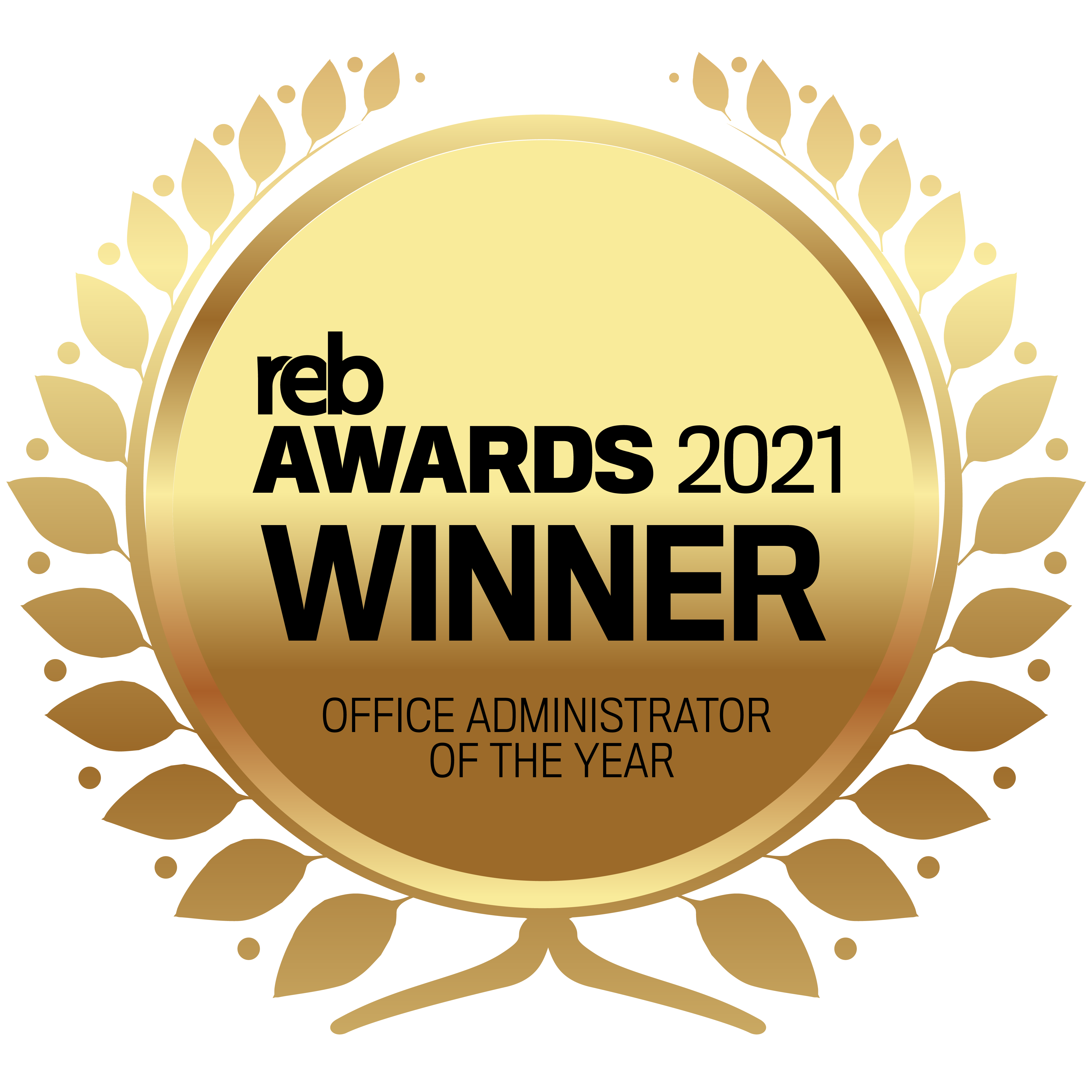 REB 2021_Winners_Finalists__Office Administrator of the Year