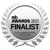 REB Awards 2021 - Office Administrator of the Year - Finalist