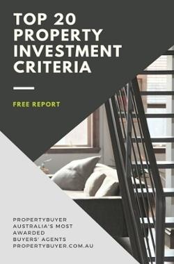 Top 20 investment criteria