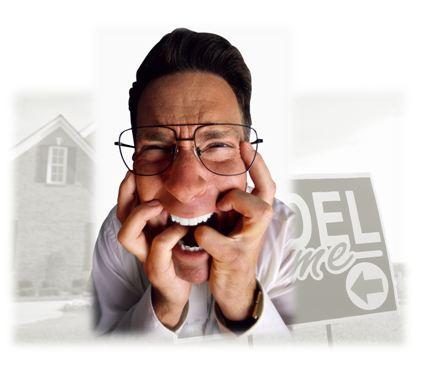 frustrated homebuyer